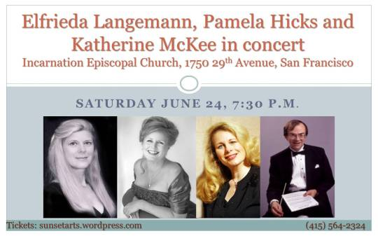Elfrieda Langemann, Pamela Hicks and Katherine McKee