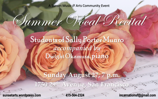 Summer Vocal Recital