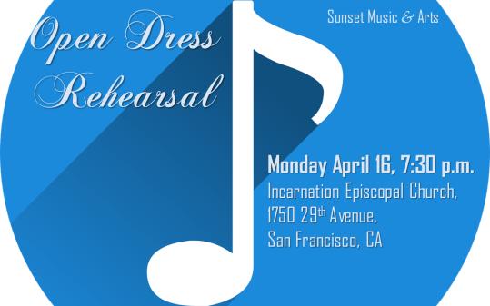 Vocal Dress Rehearsal