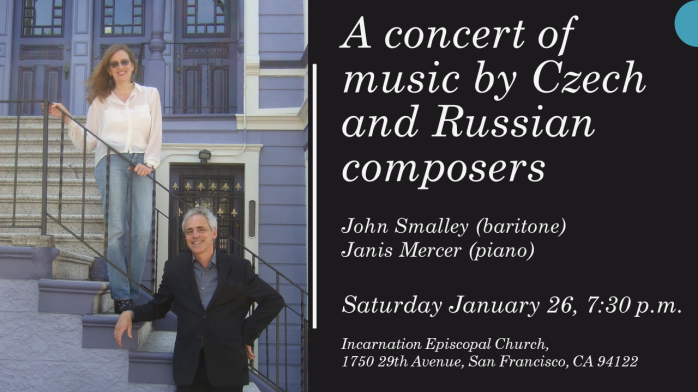 A concert of music for Baritone and piano