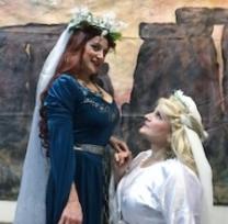 Norma and Adalgisa angry