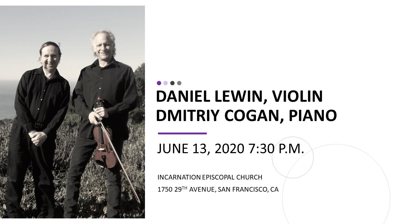 Daniel Lewin, violin